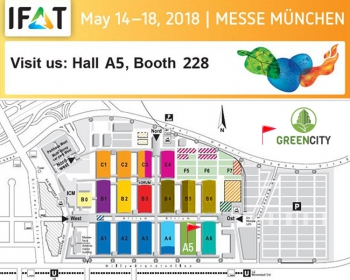 GCI IFAT 2018 banner traid fair May 2018